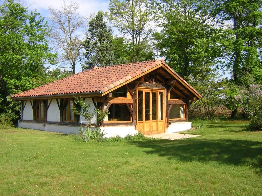 Bergerie du grand bacayron landes locations landes for Constructeur de maison en bois dans les landes
